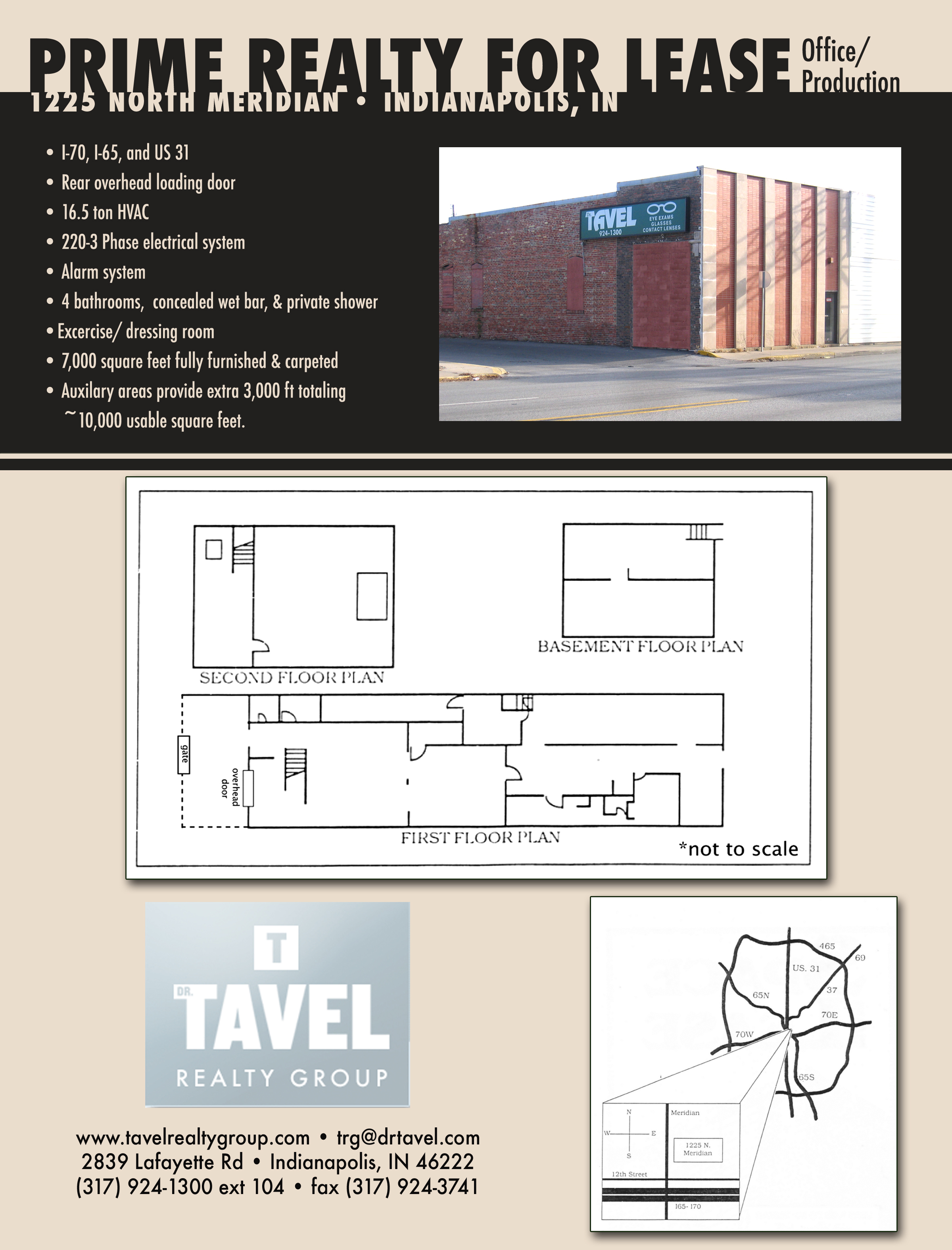 1225 N Meridian St Indianapolis In Tavel Realty Site